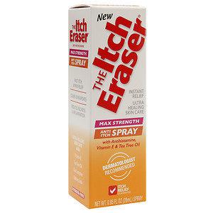 Itch Eraser Max Strength Anti Itch Spray - Ultra Healing, .95 oz