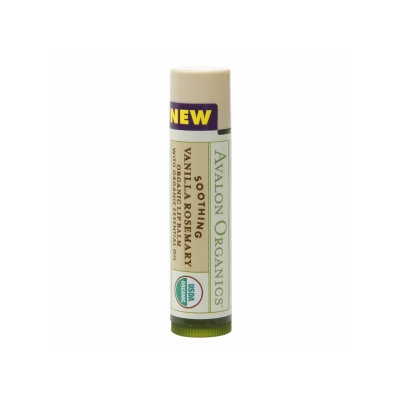 Avalon Organics Soothing Vanilla Rosemary Lip Balm