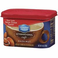 Maxwell House International Cafe Style Beverage Mix, Hazelnut Cafe, 9 oz