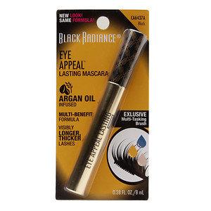 Black Radiance Eye Appeal Lasting Mascara, Black, .27 oz