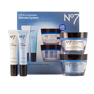 Boots No7 Lift and Luminate Skincare System