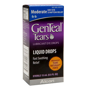 GenTeal Eye Drops, Moderate