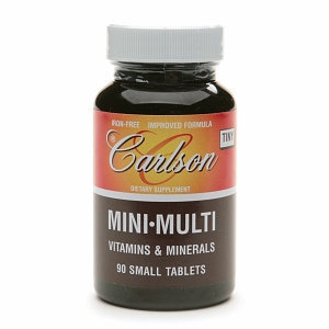 Carlson Laboratories Mini-Multi - 90 Tablets - Multiminerals