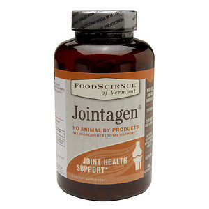 FoodScience of Vermont Jointagen Joint Health Support Dietary Supplement, 180 Capsules