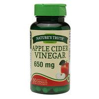 Nature's Truth Apple Cider Vinegar 650mg, Capsules, 60 ea