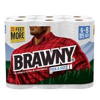 Brawny Paper Towels, Big Rolls, Pick-A-Size 6 rolls