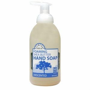 Alaffia Everyday Shea Foaming Shea Butter Hand Soap Unscented - 18 fl oz