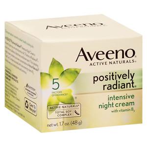 Aveeno Positively Radiant Night Cream