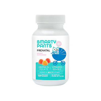 SmartyPants Prenatal Multivitamin Gummies - 120 Count