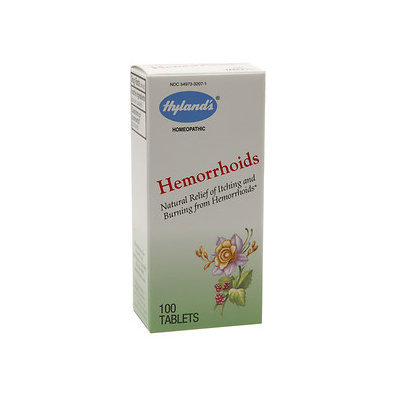 Hylands Hyland's Natural Hemorrhoids Relief Tablets, 100 ea