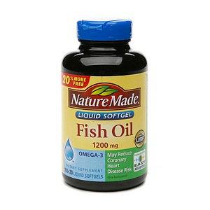 NM FISH OIL 1200MG BONUS - Nature Made