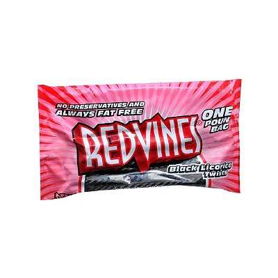 Red Vines Twists, Black Licorice, 16 oz