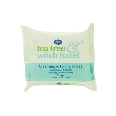 Boots Tea Tree & Witch Hazel Face Wipes