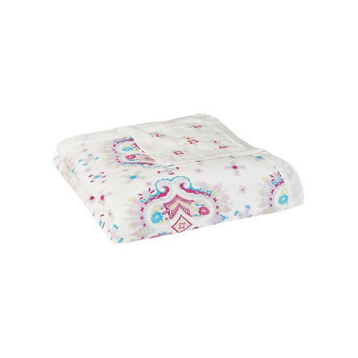 Aden + Anais Silky Soft Dream Blanket - Flower Child-Kaleidoscope