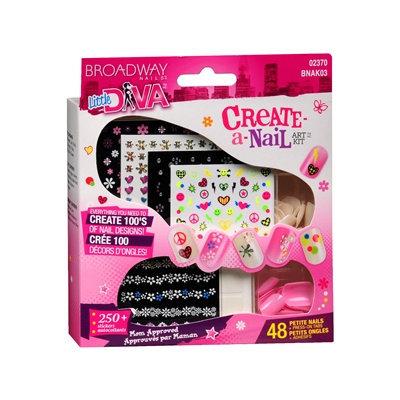 Broadway Nails Create-A-Nail Art Kit