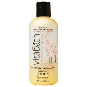 Vitabath Hydrating Lotion, Sweet Vanilla Amber, 12 fl oz
