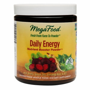 MegaFood - Daily Energy Nutrient Booster Powder - 1.86 oz.