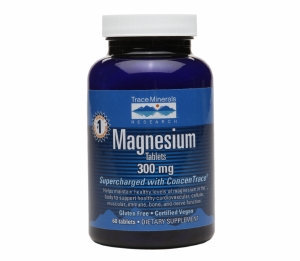 Trace Minerals Research Magnesium 300mg, Tablets, 60 ea