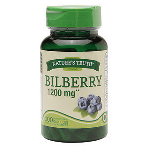 Nature's Truth Bilberry 1200mg, 100 ea