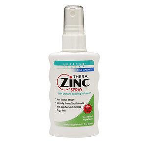 Quantum Health - Thera Zinc Spray Peppermint Clove Flavor - 2 oz.