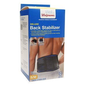 Walgreens Back Stabilizer, S/M, 1 ea