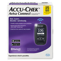 Accu-check Accu-Chek Aviva Connect Blood Glucose Monitoring System, 1 ea