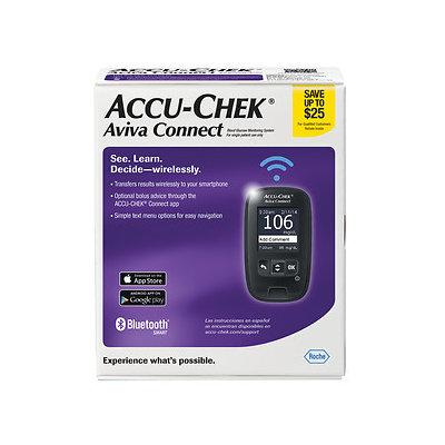 Accu-check Accu-Chek Aviva Connect Blood Glucose Monitoring System, 1 ea