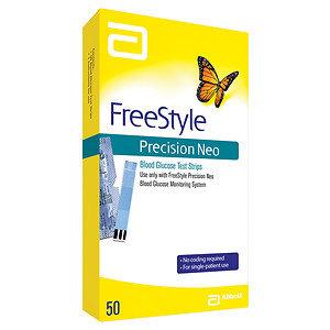 FreeStyle Precision Neo Test Strip, 50 ea