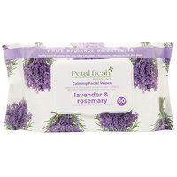 Petal Fresh Botanicals Lavender and Rosemary Calming Facial Wipes (60 Count)