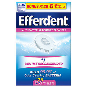 Efferdent Original Tablet Bonus 126ct, 126 ea