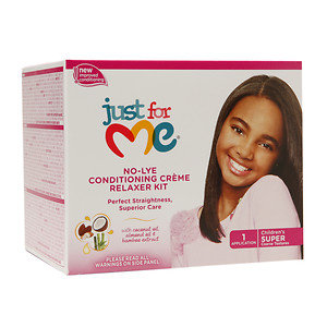 Just for Me! No-Lye Conditioning Creme Relaxer Kit, 1 ea