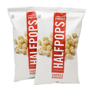 Halfpops Popcorn Chipotle Barbeque 6 oz