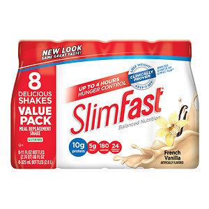 Slim-Fast Ready to Drink, 8 pk, French Vanilla, 11 oz