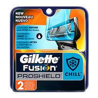 Gillette Fusion ProShield Chill Razor Refill Cartridges, 2 ea