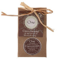 One Shea Butter Lip Balm Coco-Coconut