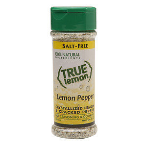 True Citrus Seasoning Lemon Pepper Shaker 2.85 Oz Pack Of 6