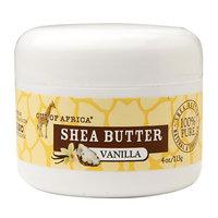 Out Of Africa Shea Butter Vanilla 4 oz - Vegan