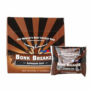 Bonk Breaker Energy Bars Espresso Chip - 12 Bars