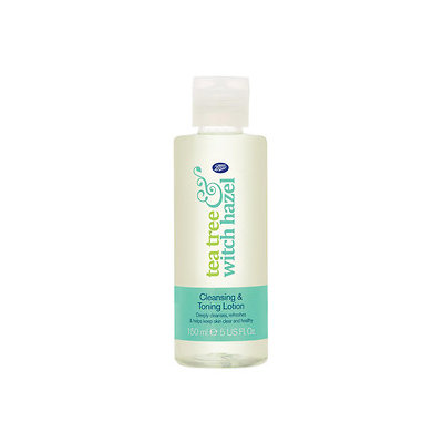 Boots Tea Tree & Witch Hazel Cleansing & Toning Lotion