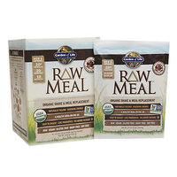 Garden of Life RAW MEAL Beyond Organic Meal Replacement Formula Chocolate Cacao 10 Packets - Vegan