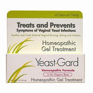 YeastGard Homeopathic Gel Treatment with Probiotics, 1 oz