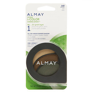 Almay Intense i-Color Party Brights All Day Wear Powder Shadow, Greens, .2 oz