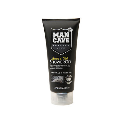 ManCave Lemon & Oak Shower Gel - 6.7oz