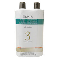 Nioxin System 3 Cleanser and Scalp Therapy Duo, 33.8 oz