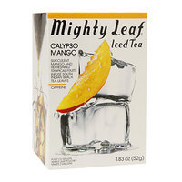 Mighty Leaf Tea 1161 Mighty Leaf Calypso Mango Iced Tea - 6x4 CT