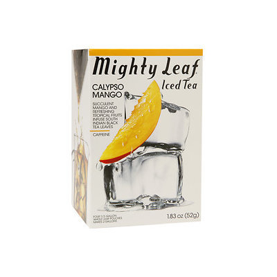 Mighty Leaf Tea 1161 Mighty Leaf Calypso Mango Iced Tea - 6x4 CT