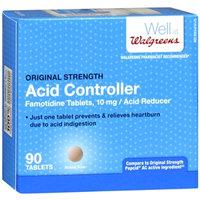 Walgreens Original Strength Acid Controller Tablets, 90 ea