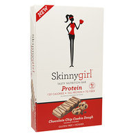 Skinnygirl Tasty Nutrition Bar Protein, 12 pk, Chocolate Chip Cookie Dough, 1.4 oz