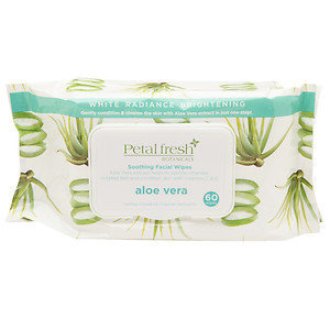 Petal Fresh White Radiance Brightening Aloe Vera Moisturizing Cleansing Wipes