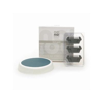 Nono no! no! Refills for the no! no! 8800 Series: 3 Wide Thermicon Tips & 1 Buffer, 1 set
